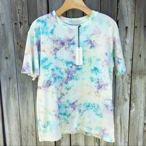 NWT Daydreamer Tie Dye Weekend Tee Spring Bubble S